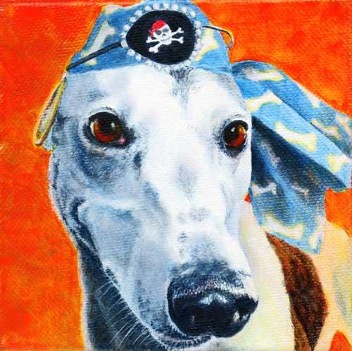 """Dorie"" by Xan Blackburn. Acrylic on canvas"