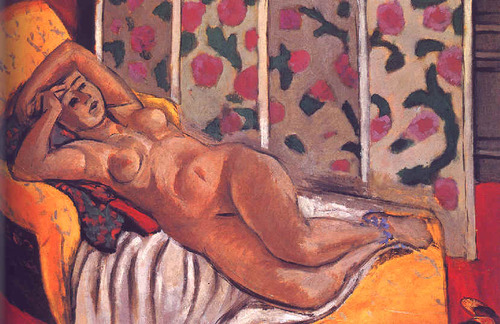 Yellow Odalisque, by Matisse