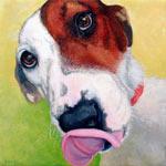 Mylie: acrylic on canvas