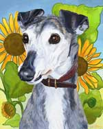 Sally, by Xan Blackburn, digital painting